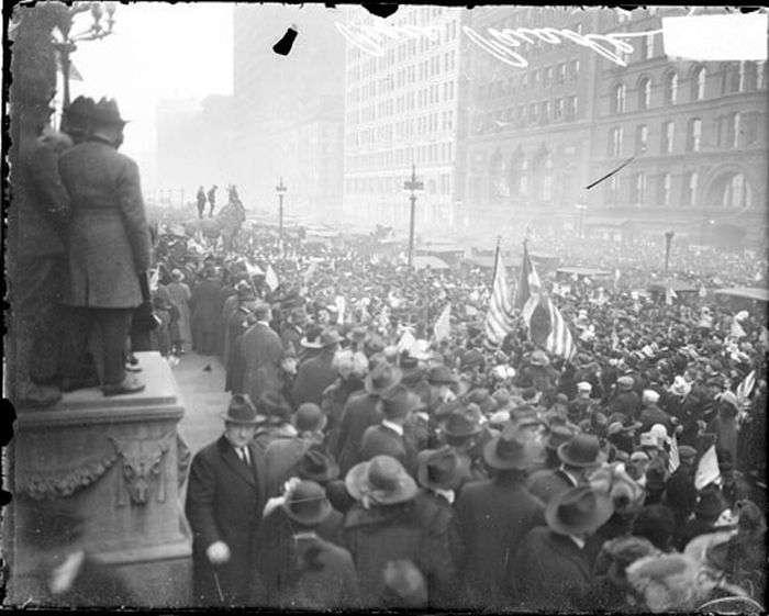Архівні знімки в день закінчення Першої Світової Війни (31 фото)