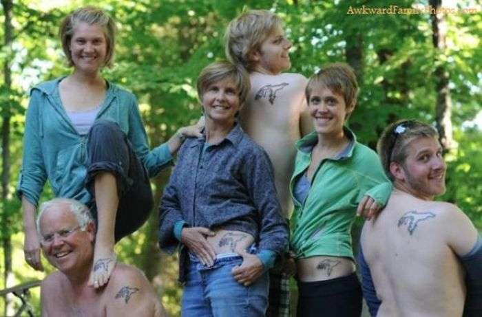 Смішні і дивні сімейні фотографії (40 фото)