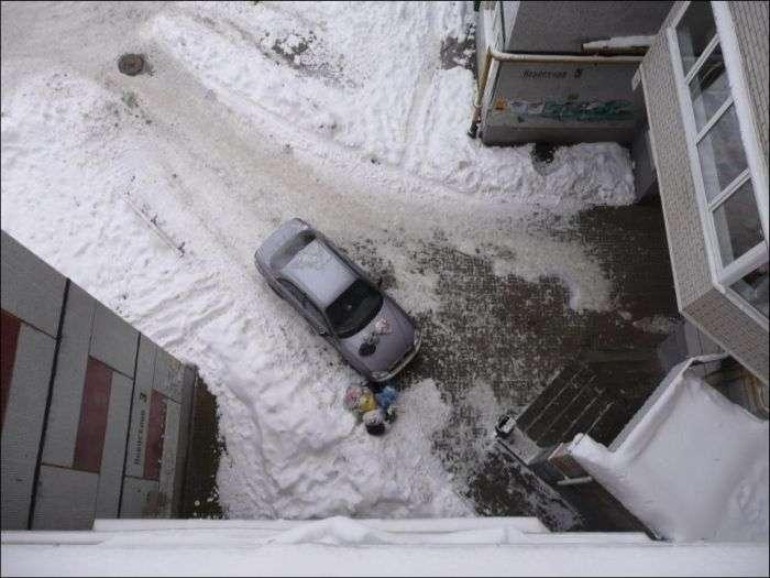 Останнім гуманне попередження власника автомобіля (3 фото)