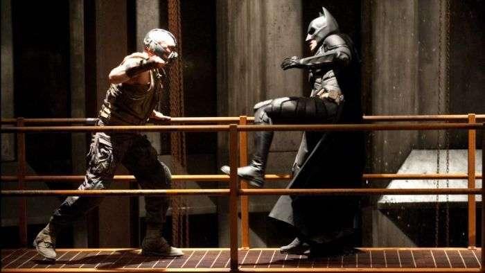 Як знімалася битва проти Бетмена Бейн (45 фото)