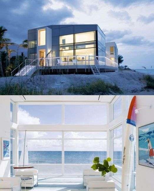 Шикарні апартаменти на березі океану (34 фото)