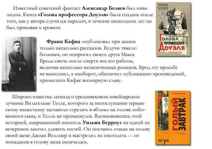 Пізнавальні факти про книги відомих авторів (10 фото)