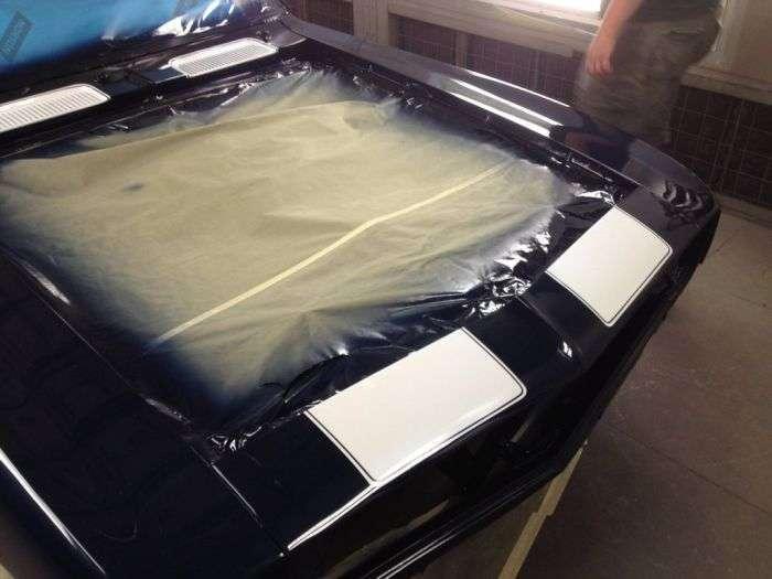 Перевтілення класичного авто в агресивний мускул-кар (54 фото)