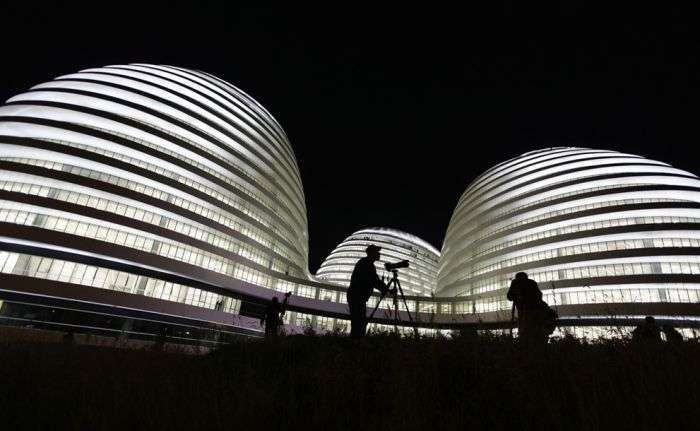 Дивний метод забудови китайських міст (51 фото)