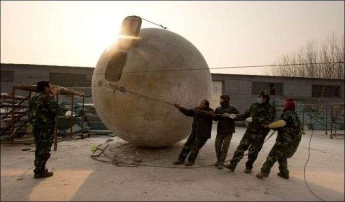 Унікальна сфера, яка врятує від кінця світу (12 фото)
