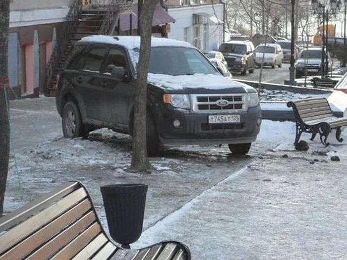Особливості національної паркування (5 фото)