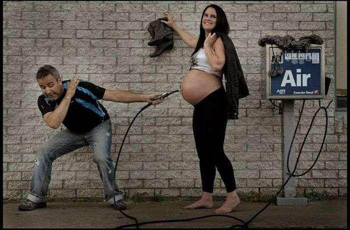 Позитивний фотопроект про народження нового життя (7 фото)