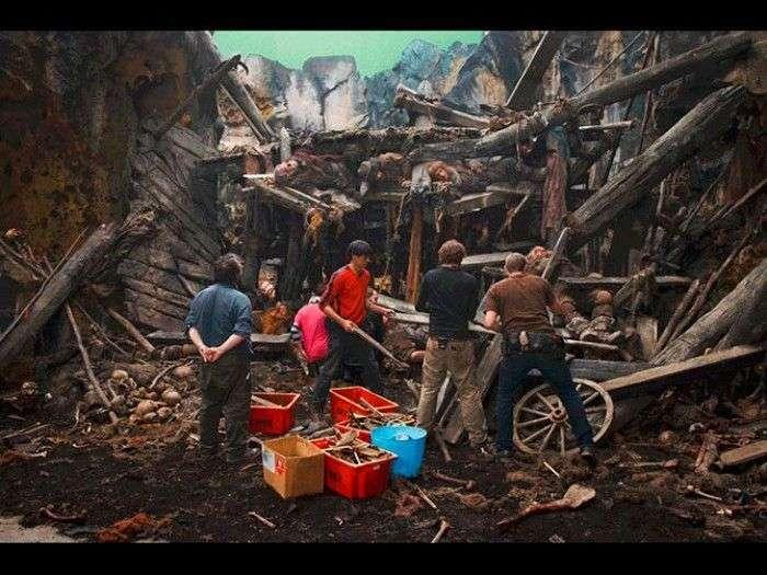 Класні фотографії зі зйомок фільму Хоббіт (31 фото)