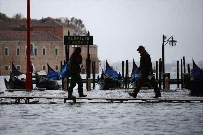 Повінь у Венеції (29 фото)