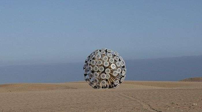 Креативне винахід для зачищення замінованій території (8 фото)