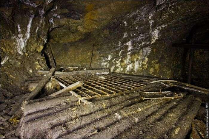 Прогулянка по покинутим підземних виробках (37 фото)