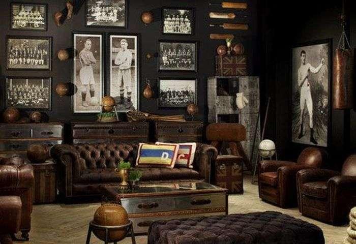 Спортивні кімнати, про які мріє кожен чоловік (52 фото)