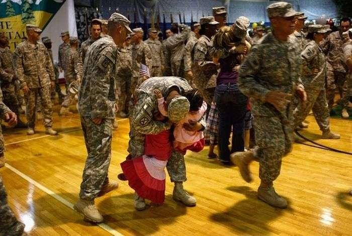Повернення з війни (21 фото)