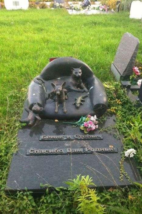 Підмосковне кладовище домашніх тварин для олігархів (24 фото)