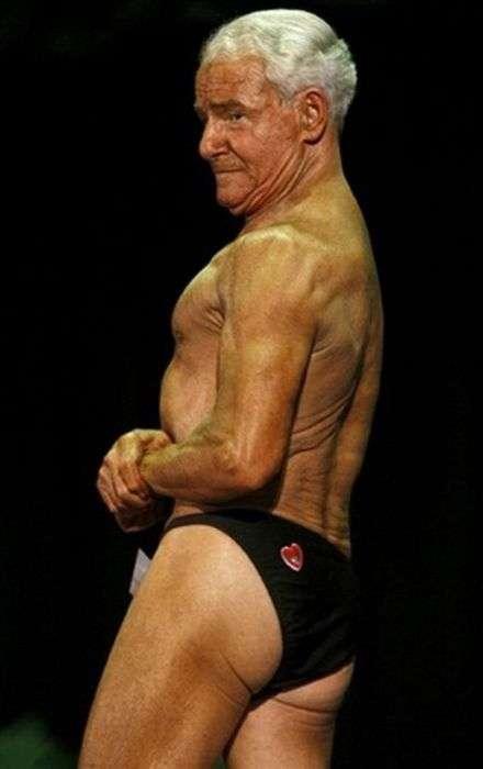 Рей Мун - найстарший бодібілдер на планеті (9 фото)