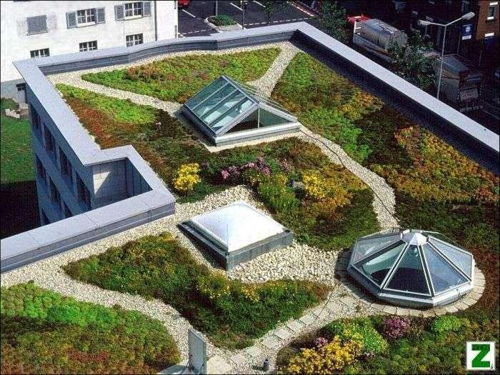 Дахи будинків в європейських країнах (47 фото)