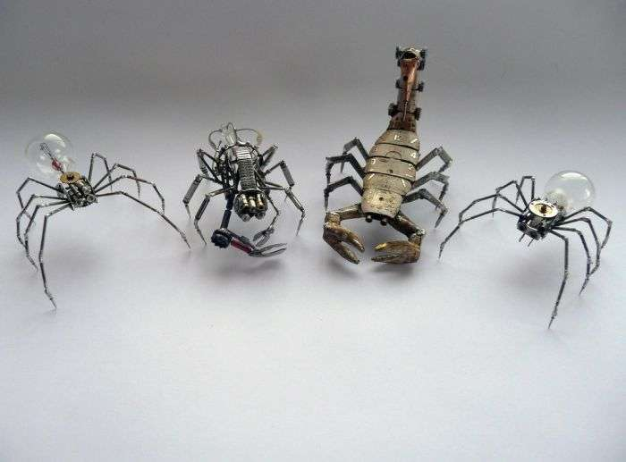 Стімпанк комахи. Частина 2 (26 фото)