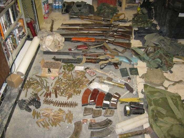 Конфісковане зброю у талібських повстанців (28 фото)