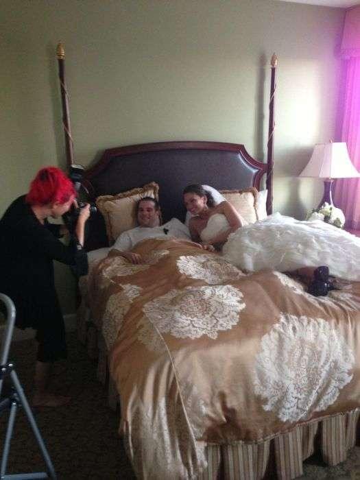 Дивовижний випадок за день до весілля (10 фото)