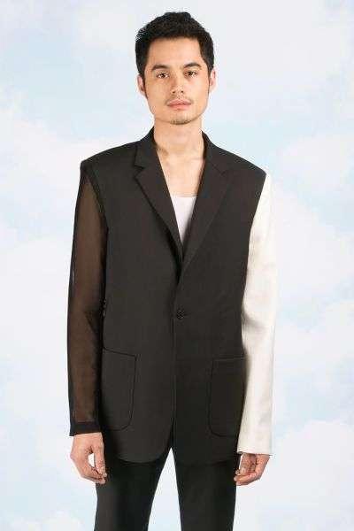 Незвичайна колекція креативної чоловічого одягу (30 фото)