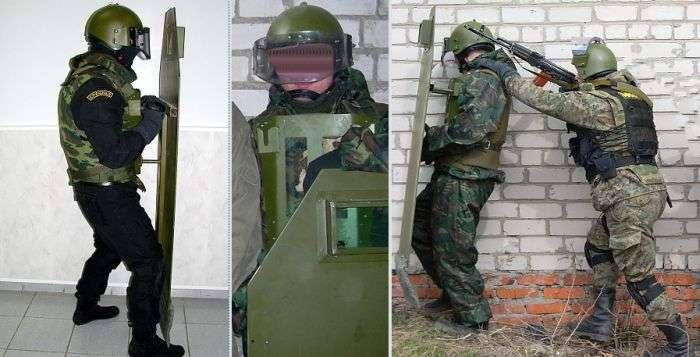 Нова російська розробка - штурмової щит Паркан (7 фото)