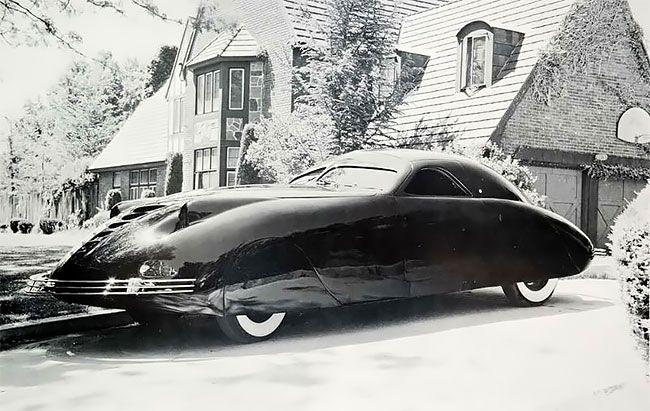 Phantom Corsair 1938 — невероятный автомобиль будущего Авто
