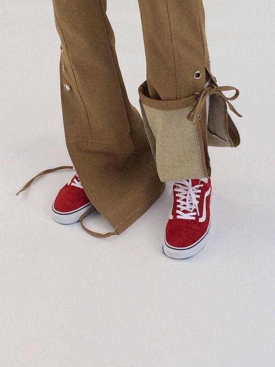 Акцент на шнуровку одежда,рукоделие,своими руками,шнуровка в одежде