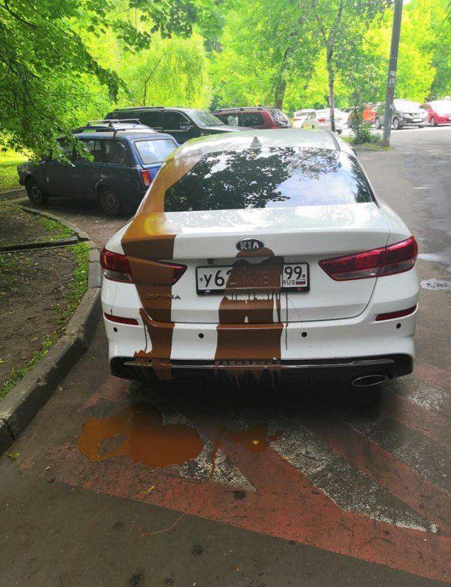 Жесткое наказание за парковку в неположенном месте Всячина