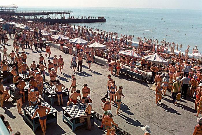 Пляжный отдых в Советском Союзе путешествия,Путешествие и отдых