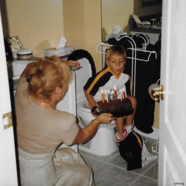 12 неловких семейных фотографий, о которых хочется забыть навсегда Интересное