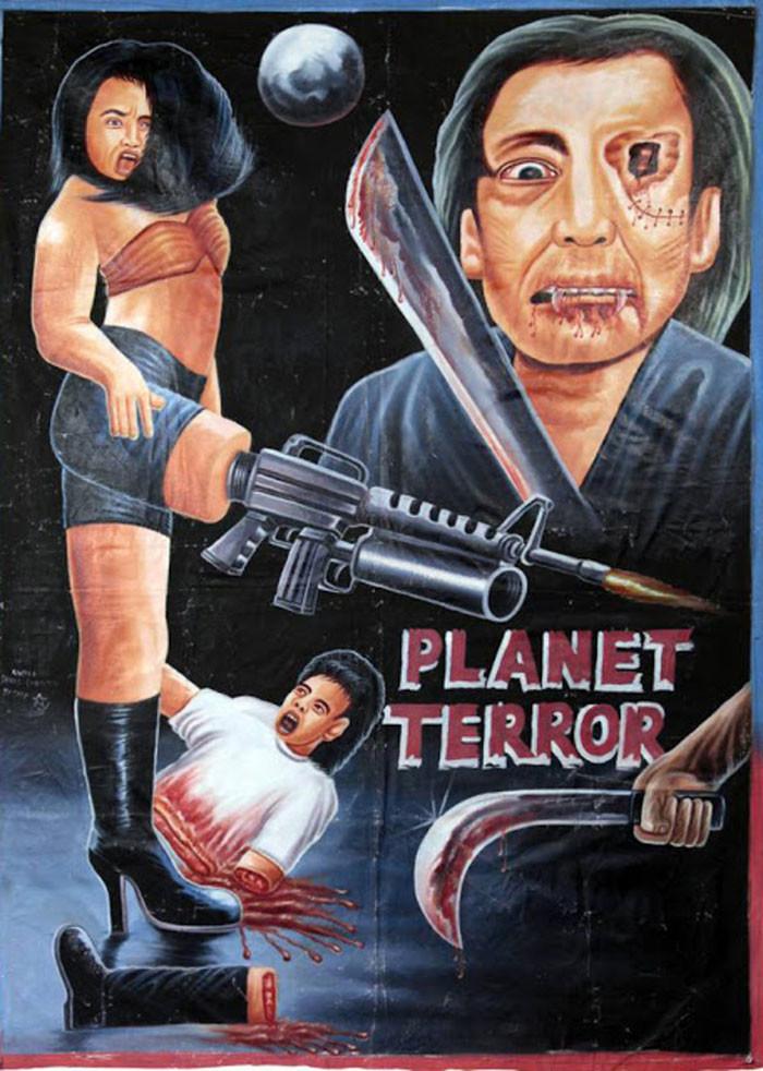 Несколько плохих африканских киноафиш... Хулиганство,Кино