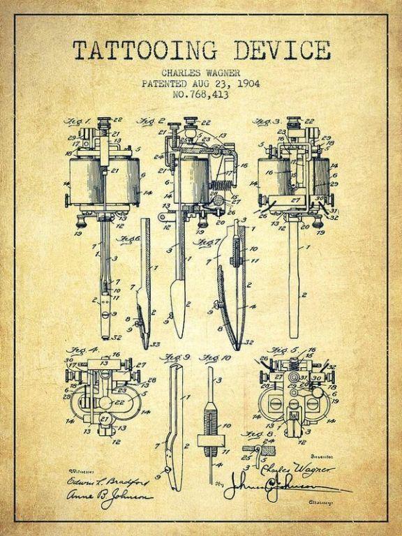 Эволюция тату машинки Интересное