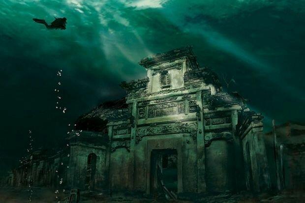 Загадки подводных городов Интересное
