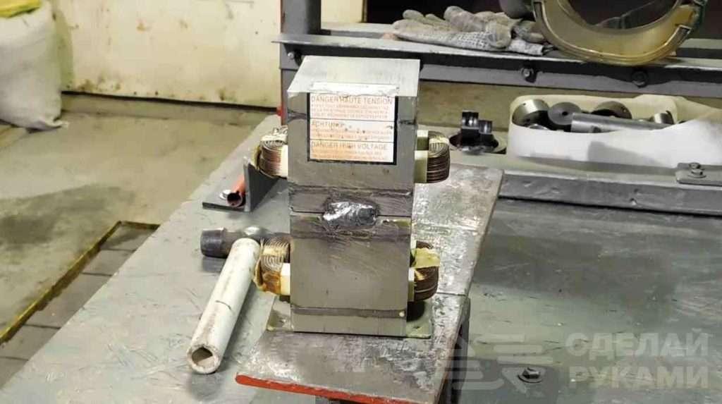 Точечная сварка из двух трансформаторов от микроволновки Самоделки