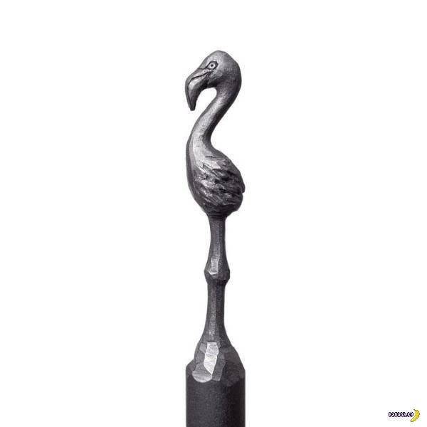 Резьба по карандашам Интересное