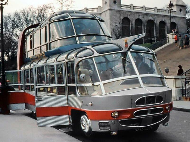 Как двухэтажные автобусы потерпели фиаско в Советском Союзе авто