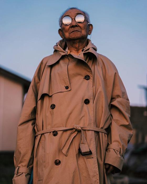84-летний японский дедушка стал моделью Интересное