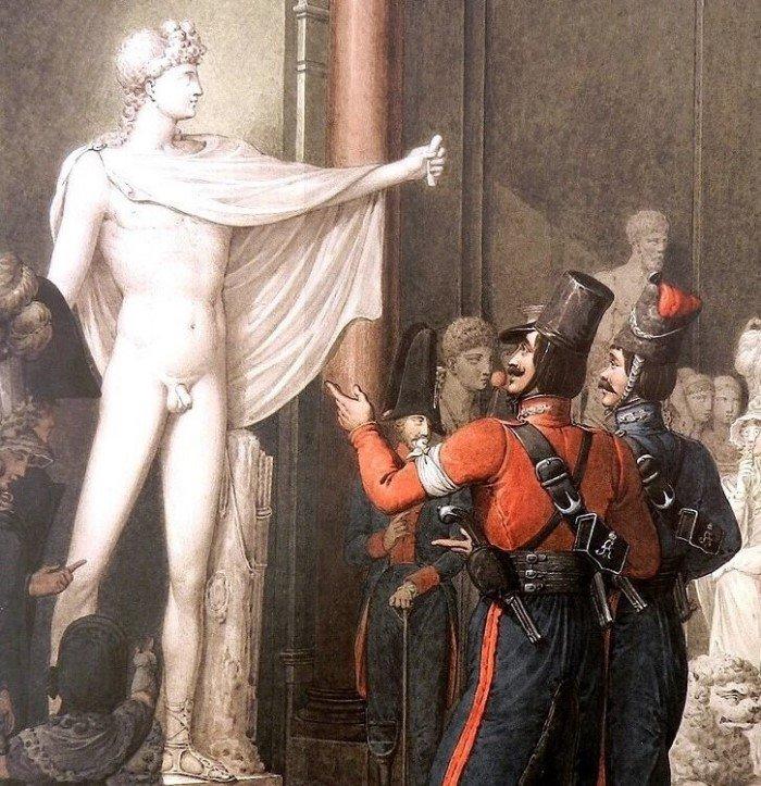 Как казаки со светским Парижем знакомились Интересное