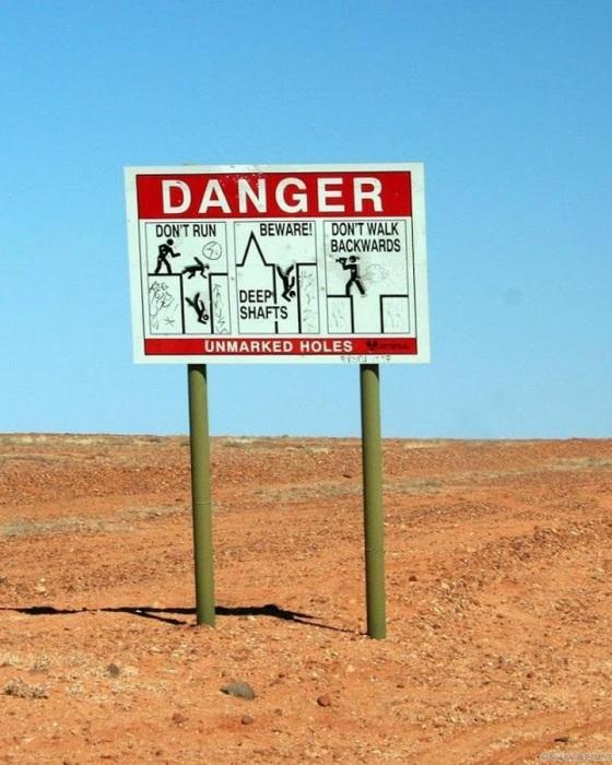 Город в Австралии, который можно найти, только заглянув …в дыру Интересное