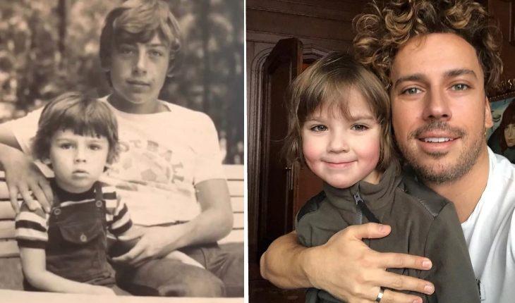 ДНК тест не нужен! Сын Максима Галкина копия папы в детстве