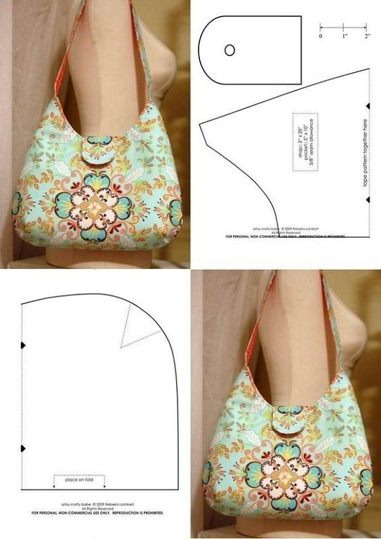 Сшить оригинальную и яркую сумочку не так сложно как кажется. Есть идеи и выкройки. handmake,мастер-классы,сумки