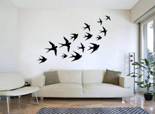 7 оригинальных способов Отделки стен аксессуары,гостиная,декор,идеи для дома,интерьер и дизайн,стены