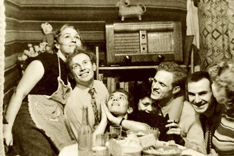 Иннокентий Смоктуновский, Римма и Леонид Марковы на отдыхе актер,актриса,наши звезды,развлечение,фото,шоу,шоубиz,шоубиз