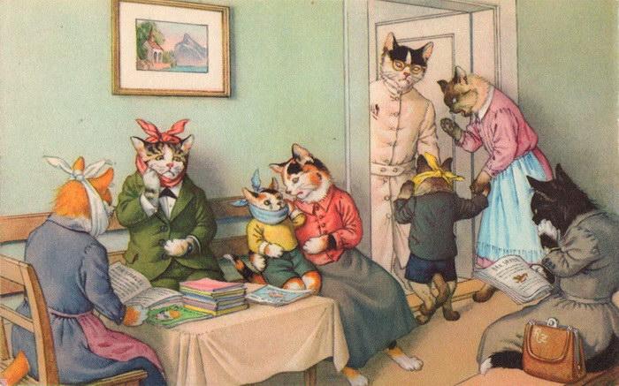 Люди превращаются в кошек