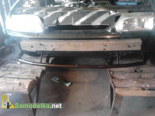 Усиление бампера Ваз 2115 автомобили,усиление бампера,шиномонтаж