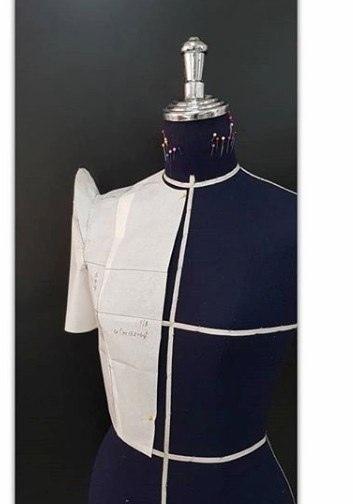 Моделирование оригинальных рукавов методом наколки модлирование рукава,одежда,рукоделие,своими руками