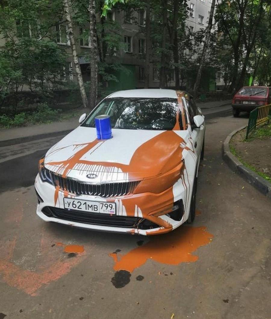 Парковка в неположенном месте: «Преступление и наказание» автомобили,водители,дороги