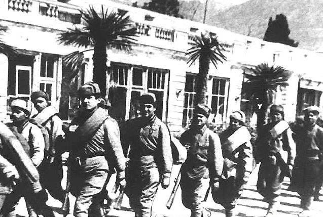 «Массандра». Оккупация и освобождение история