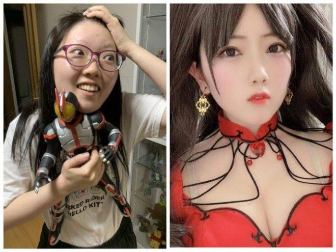 Как выглядят косплееры в обычной жизни: фото до и после косплей