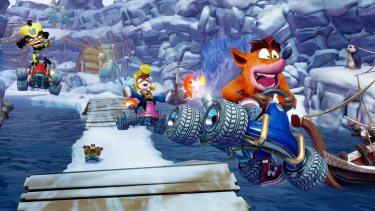Видео: вышла гоночная ретро-аркада Crash Team Racing Nitro-Fueled action,arcade,crash team racing nitro-fueled,pc,ps,xbox,Аркады,Гонки,Игры